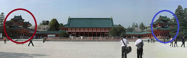 Heian-jingu_panoramic_view_23046125_63be7615e3_o